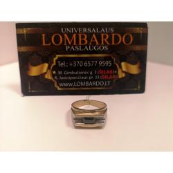 Auksinis žiedas 4,91g.