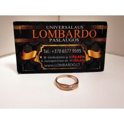 Auksinis žiedas 2,04g.