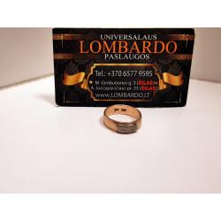 Auksinis žiedas 6,26g.