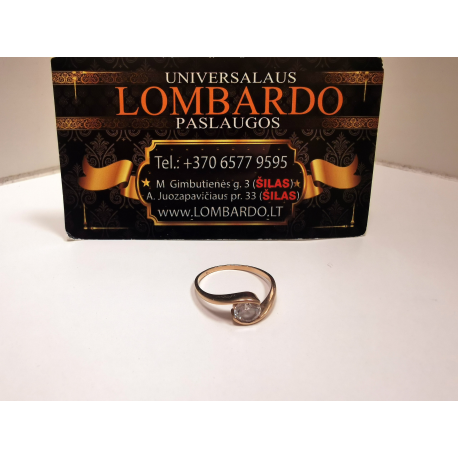 Auksinis žiedas 1,78g.