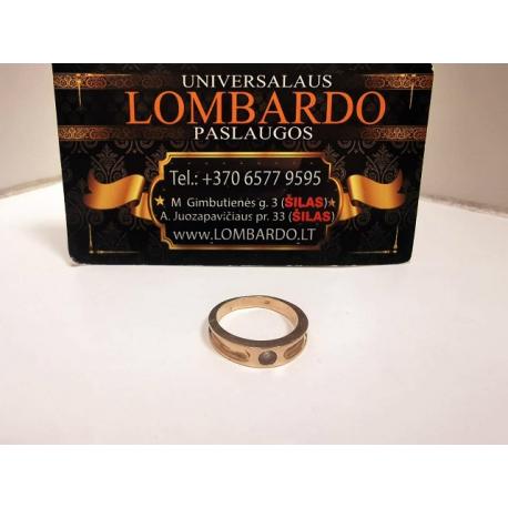 Auksinis žiedas 3,46g.