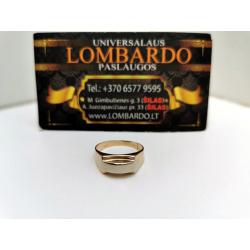 Auksinis žiedas 3,22g.