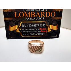 Auksinis žiedas 2,79g.