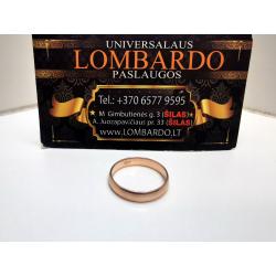 Auksinis žiedas 3,32g.